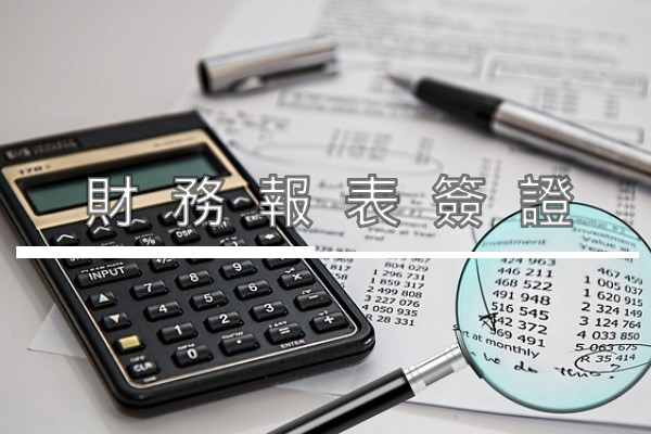 財務報表簽證 Financial Statements Audit/Assurance Services